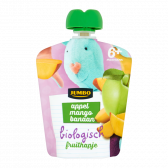 Jumbo Biologisch fruithapje met appel, mango en banaan (vanaf 6 maanden)