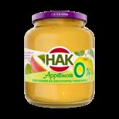 Hak Sugar free apple sauce large