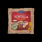 Santa Maria Corn and wheat tortilla wraps medium