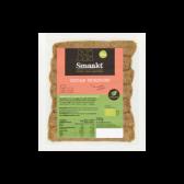 Smaakt Biologische seitan worstjes (voor uw eigen risico, geen restitutie mogelijk)