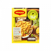 Maggi Leek-curry with minced meat oven dish