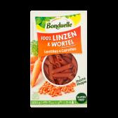 Bonduelle Linzen en wortel pasta