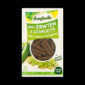 Bonduelle Peas and courgette pasta