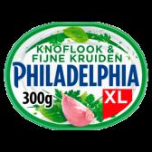 Philadelphia Knoflook en fijne kruiden familieverpakking (voor uw eigen risico, geen restitutie mogelijk)