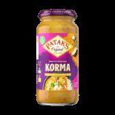 Patak's Korma sauce