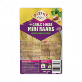 Patak's Knoflook en kruiden mini naans