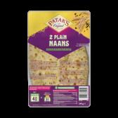 Patak's Plain naan bread