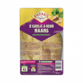 Patak's Garlic and herbs naans