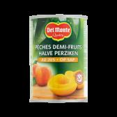 Del Monte Half peaches on juice