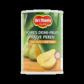 Del Monte Half pears on juice