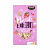 Jumbo Cereals with red fruit