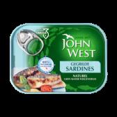 John West Gegrilde sardines naturel