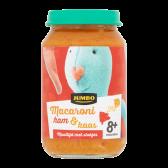 Jumbo Macaronie met ham en kaas (vanaf 8 maanden)