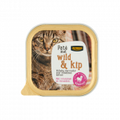 Jumbo Wild and chicken pate for cats (only available within Europe)