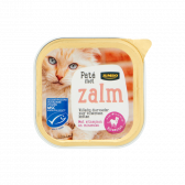 Jumbo Salmon pate for cats small (only available within Europe)