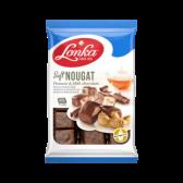 Lonka Soft nougat peanuts and milk chocolate