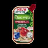 John West Makreelfilets in gekruide tomatensaus MSC