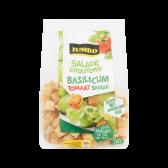 Jumbo Salade croutons met basilicum en tomaat smaak