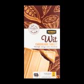 Jumbo White chocolate tablet