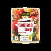 Jumbo Stuffed goulash soup
