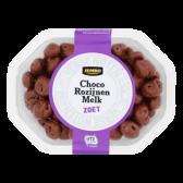 Jumbo Melkchocolade rozijnen