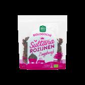 Jumbo Biologische zongedroogde sultana rozijnen