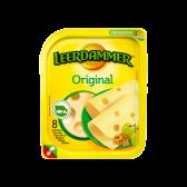Leerdammer Original 45+ cheese slices