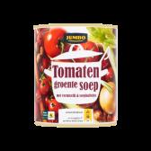 Jumbo Tomaten groentesoep met vermicelli en soepballen