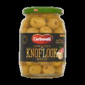 Carbonell Green olives in garlic marinade