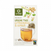 La Place Theezakjes groene thee citroengras & gember