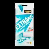 Jumbo Extra munt suikervrije kauwgom 3-pack