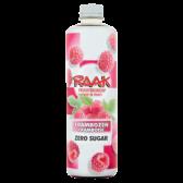 Raak Raspberry zero sugar fruit syrup