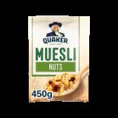 Quaker Oat flakes cereals nuts