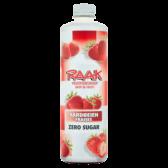 Raak Strawberry zero sugar fruit syrup