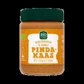 Jumbo Organic peanut butter with peanut pieces