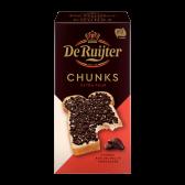 De Ruijter Extra dark chocolate chunks