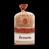 Consenza Glutenvrij bruinbrood (voor uw eigen risico)