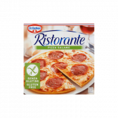 Dr. Oetker Gluten free salami pizza Ristorante (only available within Europe)