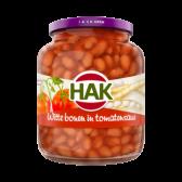 Hak White beans in tomato sauce large