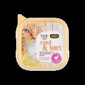 Jumbo Runder en hart pate voor katten (alleen beschikbaar binnen Europa)