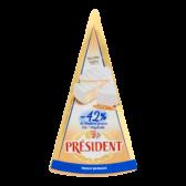 President Light brie 42% vetgehalte (voor uw eigen risico)