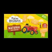 Farm Brothers Biologische naturel koekjes