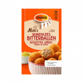 Mora Rundvlees bitterballen mini's (alleen beschikbaar binnen de EU)