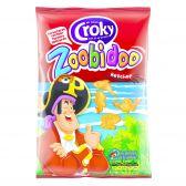 Croky Zoobidoo ketchup crisps
