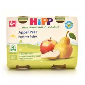 Hipp Apple and pear organic 2-pack (from 4 months)