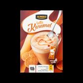 Jumbo Latte caramel sachets