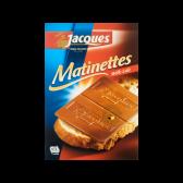 Jacques Melk chocolade matinettes