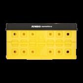 Jumbo Grocery crate yellow black max 30 kg