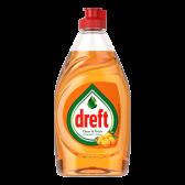 Dreft Sinaasappel afwasmiddel schoon en fris