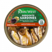 John West Mediterranean smoked sardines
